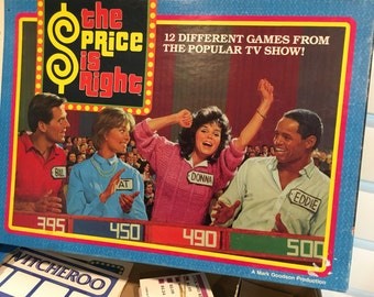 1986 The Price is right game vintage