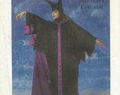 UNCUT Simplicity 8329 Disney Maleficent Costume Pattern Misses Petite 6-8
