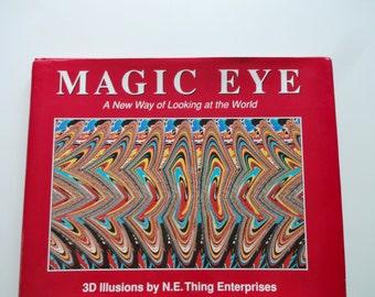 Vintage Magic Eyes Hardback Book 1994