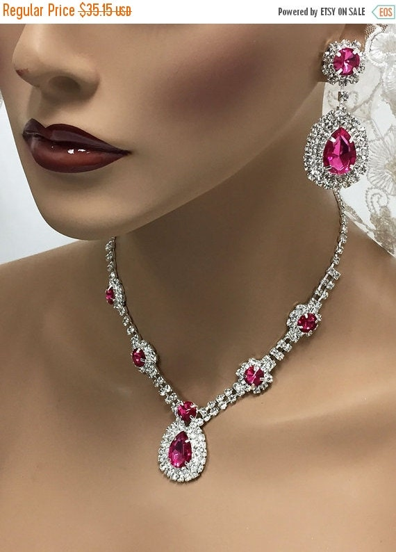 Wedding jewelry set bridesmaid jewelry set bridal by for Bridesmaid jewelry sets under 20