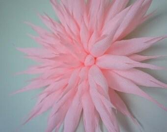 Giant Crepe Paper Dahlia Flower Decoration