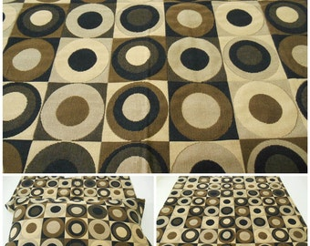 """Kravet Collections -Upholstery l Fabric -  Floral Upholstery Fabric -pc 24.5""""x24.5"""" -Circles- Java-Beige"""