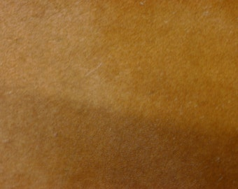 """Hair On Leather 8""""x10"""" TAN SHORT Hair Cowhide #20/2 PeggySueAlso"""