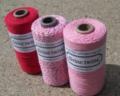 Bakers Twine - Divine Twine - 100% Cotton - Holiday Pack - Your Choice of Holiday and Amount of Twine