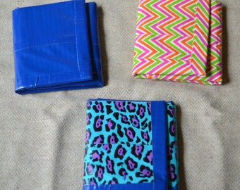 Duct tape tri-fold wallet
