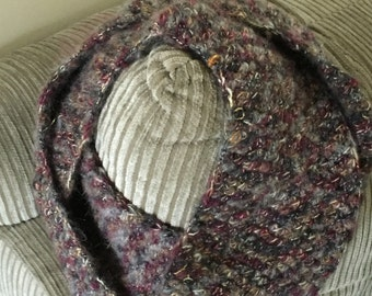 Fall color infinity scarf