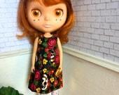 Simply Flora Calavera Blythe Dress: Dreadfully Cute Collection