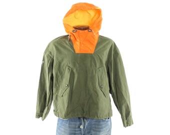 Vintage 90s Tommy Hilfiger Pullover Jacket Hooded Windbreaker Sailing Compass Zipper Athletic Jacket Mens 1990s Large L