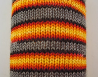 Pre-Order, Phoenix Rising on Toula Sock, Self Striping, 80/20 Superwash Fingering Sock Weight