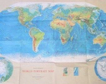 Rand McNally World Map 52 x 34