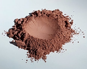 Earthy Brown Matte Mineral Eye Shadow or Blush by RAW Beauty LLC