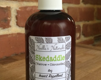 All Natural Bug Repellent - DEET FREE - No Harmful Chemicals - non-toxic - Safe for Children - Bug Spray - Insect Repellent - Organic Yarrow