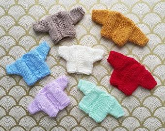 SALE % Rainbow Cardis - 7 Colors Blythe Cardigans | Pullip Cardigan