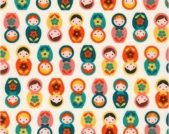 Mini Retro Matryoshka Dolls from Robert Kaufman's Suzy's Mini by Suzy Ultman