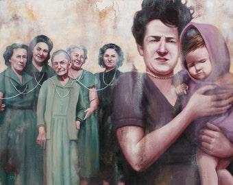 Life Maternal - Fine Art Print