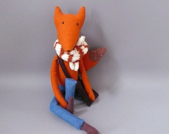 Foxy SALE!! Esteban 94 Fox Plush Softie Puppet Toy