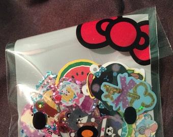 Kawaii sticker flake sack