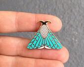 Moth II enamel pin // insect enamel pin // butterfly enamel pin // Hard Enamel // Badge // Brooch