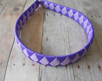 Purple and Lavender Woven Headband