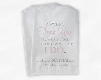 Paper Wedding Favor Bags