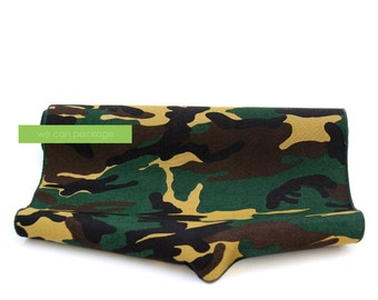 "Camo Table Runner - Camouflage Party & Army Navy Military Events - 14"" x 108"""