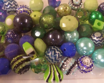 Destash, 18mm plus Beads, Paired, 50 beads or more, 50G