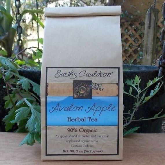 Avalon Apple 90% Organic Herbal Tea