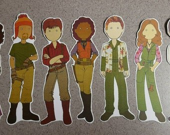 Firefly Serenity Stylized Bookmark