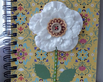 5 x 7 Lined Flower Journal