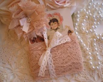 Vintage Nude Blush Floral Lace Trim Destash For Crafts Or Display From SincerelyRaven On Etsy