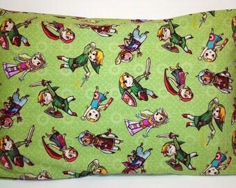 Legend of Zelda Link Pillowcase