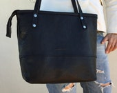 Special listing for Rachelle/ exchange / large black tote with zipper plus shipping