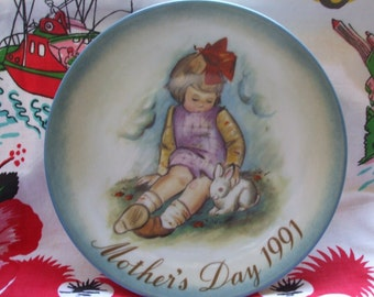 1991 Mothers Day Soft and Gentle Plate