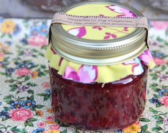 Strawberry Fig Preserves - 8oz