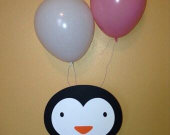 Cute Penguin Balloon Centerpiece