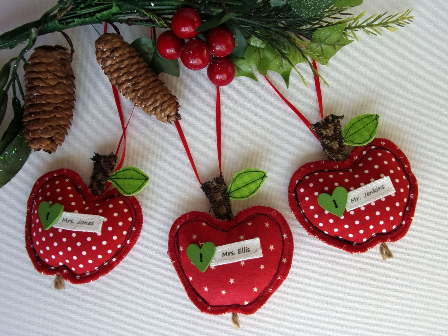 Custom christmas ball ornaments - Gift For Teacher Thank You Gifts Teachers End Of Year Teacher Gifts Personalized Teacher Unique Gift