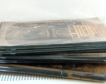 AMAZING - SIX issues 1845 Original Edition Old England Antiquities Magazines, Charles Knight