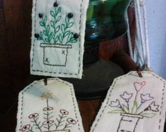 Primitive Spring Stitched Tags