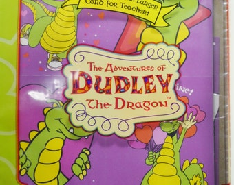Vintage Dudley The Dragon TALES Hallmark Valentine's Day Cards Unopened 30 Pack