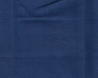 Navy Lightweight Linen Fabric-16 Yards Wholesale By the Bolt