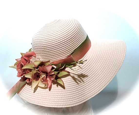 Tulip Sun Hat Women's Hats Tea Party Hats Mother Of The