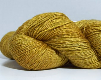 Merino, Yak, Silk, 400 yrds, hand dyed Fingering weight yarn, 3-ply