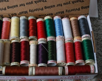 50 Spools of Gutermann Thread 100% Polyester