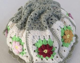Crochet Granny Square.pouch