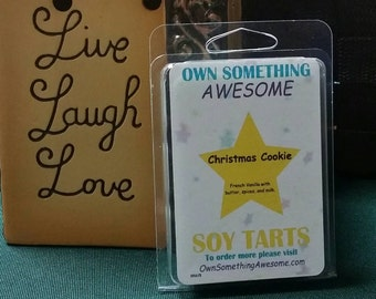 Christmas Cookie Soy Tart Melts - Scented Wax Bar