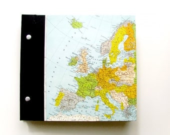 Photo Album of Europe with Personalized Title Made to Order for You