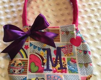 Little Girls Initial Shopkins Purse