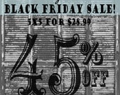 BLACK FRIDAY SALE / 45 Percent off!! / 5ft x 5ft Black Shutters / Special