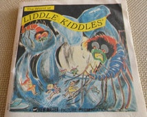 C141)  Liddle Kiddles Vintage GAF View Master Reel Original Reel Set