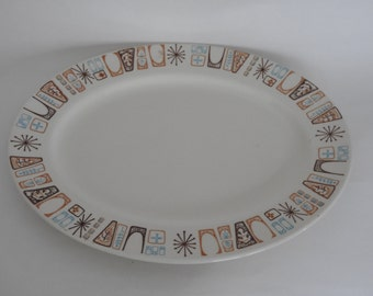 Taylor Smith and Taylor Cathay Pattern- Atomic Serving Platter